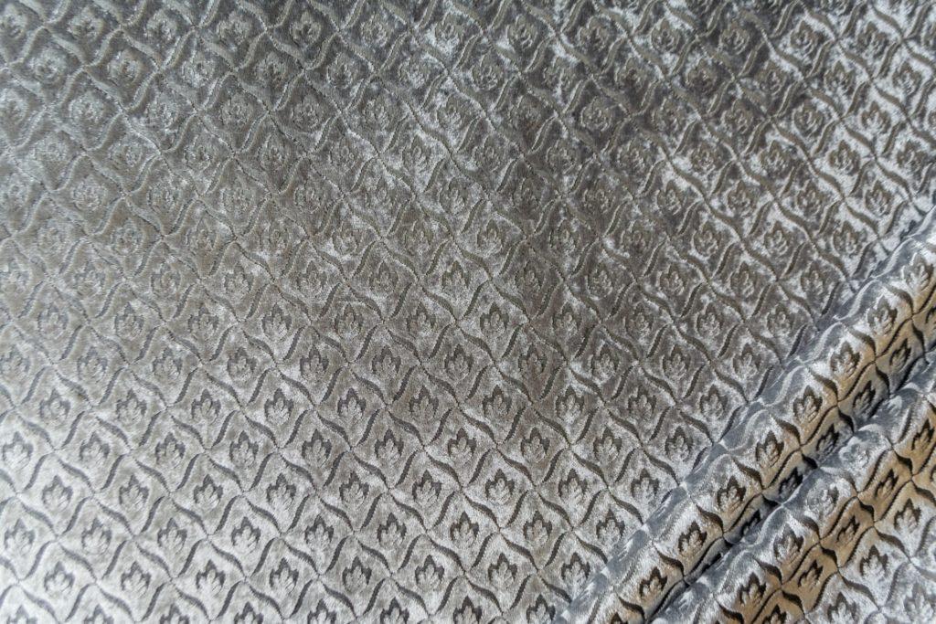 velluto elegante rombo mx caravaggio colore cenere